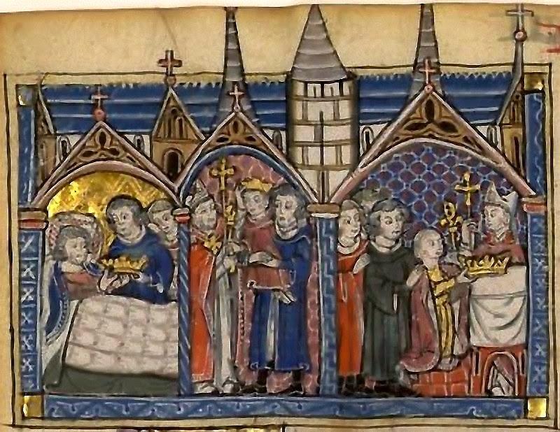 Raimundo de Tripoli nomeado regente. BNF Français 2824, fol. 162v