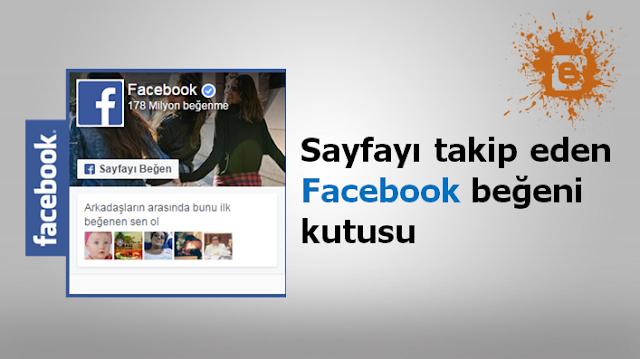 Sayfa ile hareket eden Facebook beğeni kutusu