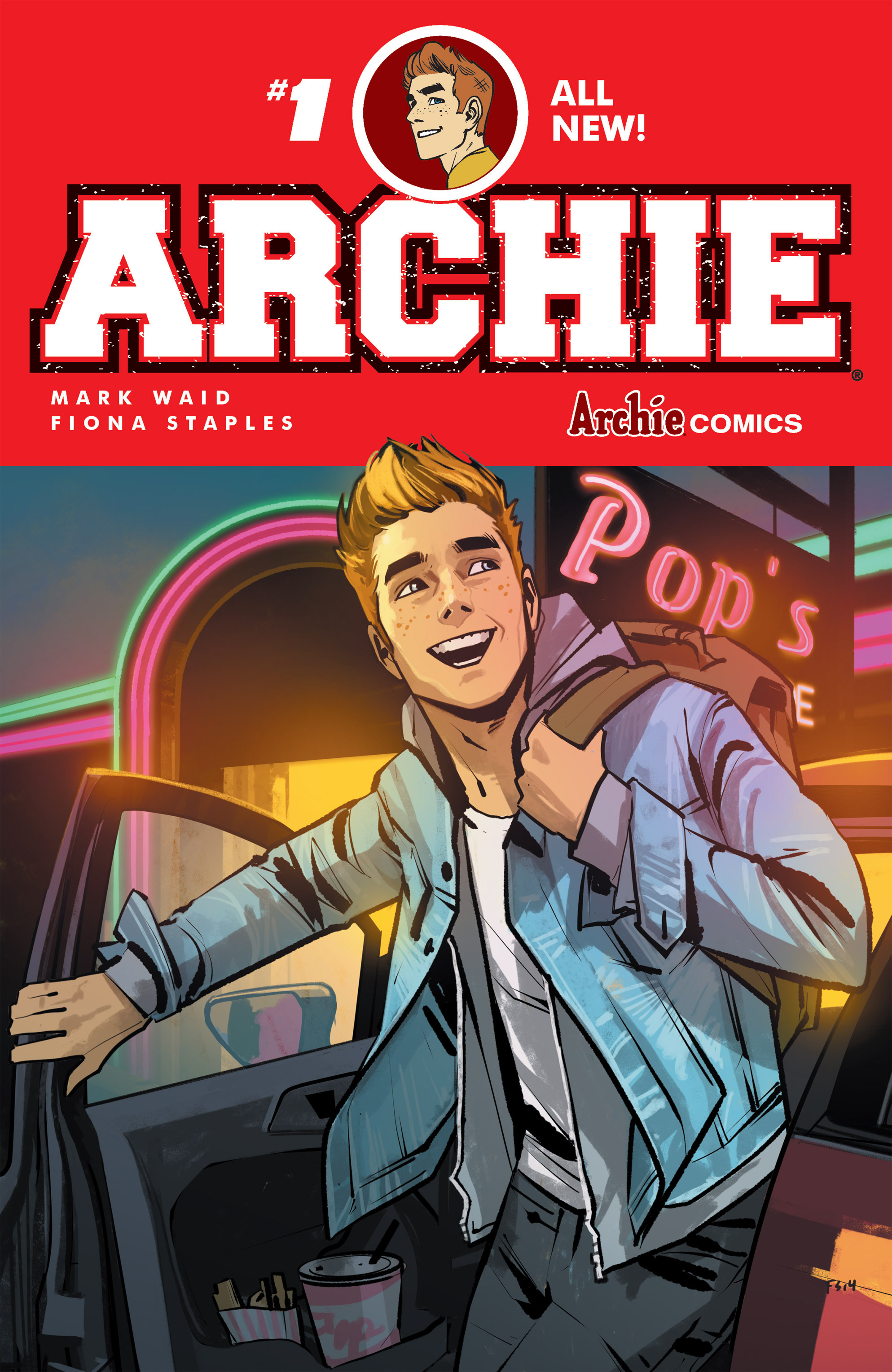 Read online Archie (2015) comic -  Issue #1 - 1