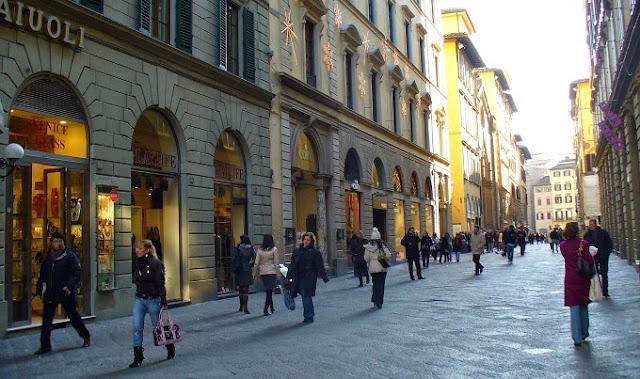 Compras em Roma - Via Del Corso