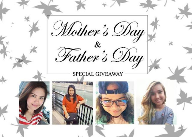Mother's Day and Father's Day Special Giveaway [CLOSED]