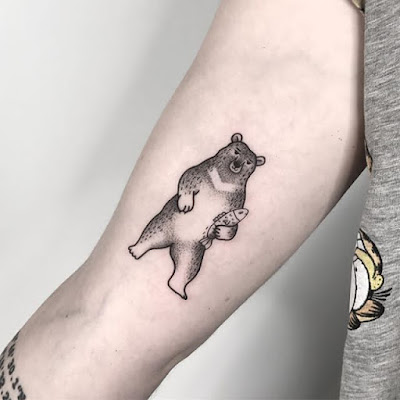 bear tattoo ideas for men