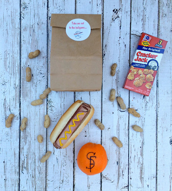 Lunch Box Ideas - Take me out the the ballgame Baseball Theme - www.jacolynmurphy.com