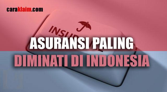 Jenis Asuransi Yang Paling Diminati di Indonesia