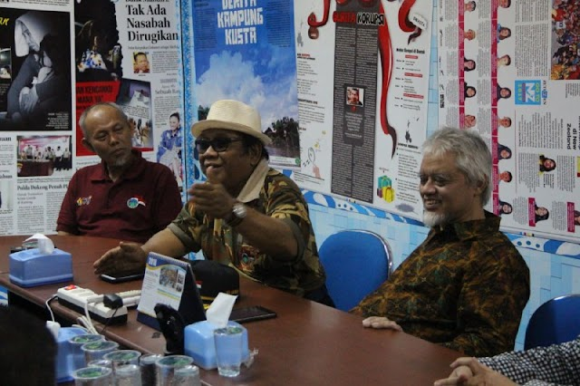 Kunjungan Ketua Umum LDII ke Kalteng Pos di Palangka Raya
