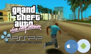 GTA Vice City Stories ISO for PPSSPP Free Download