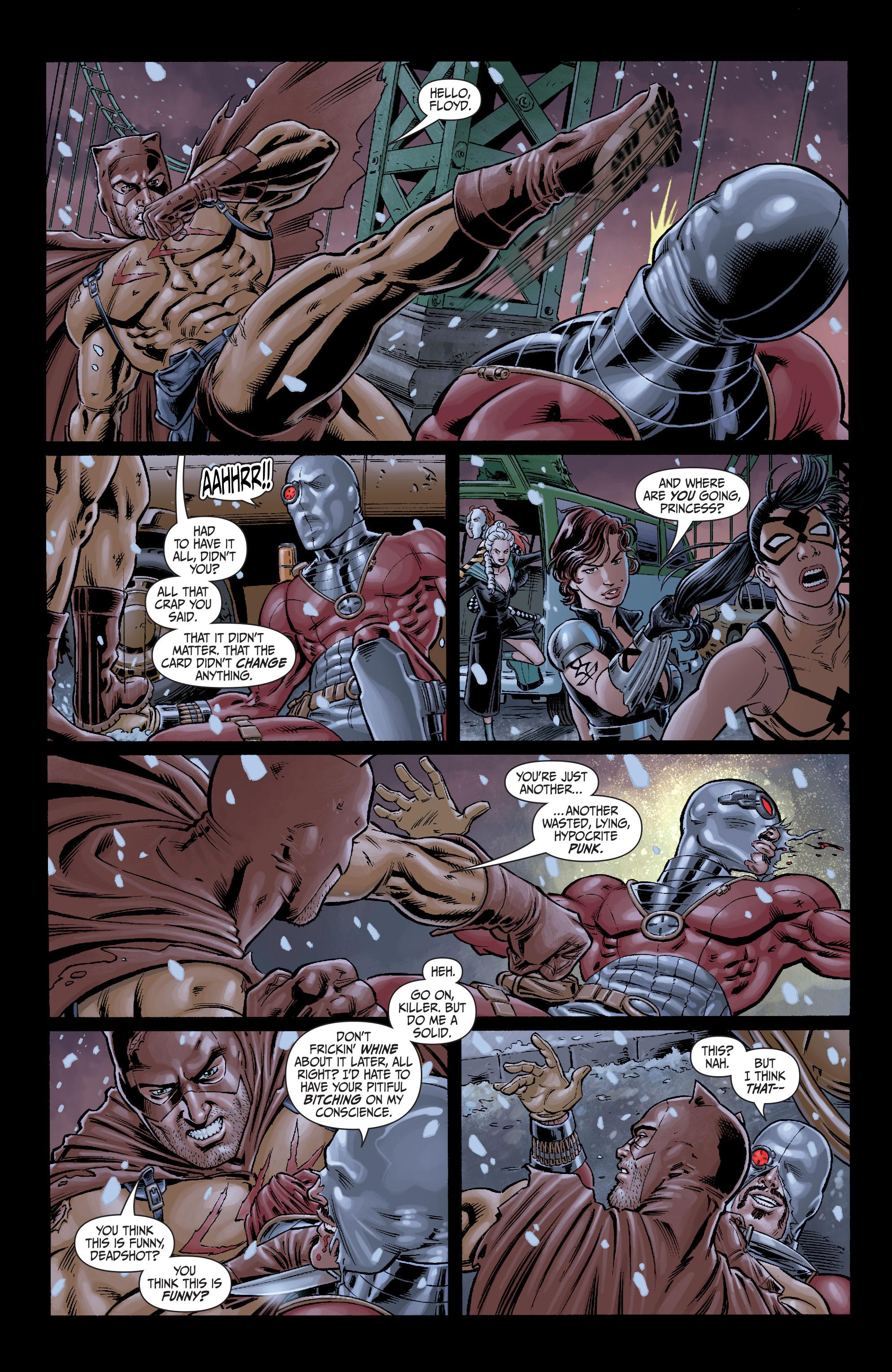 Read online Secret Six (2008) comic -  Issue #7 - 8