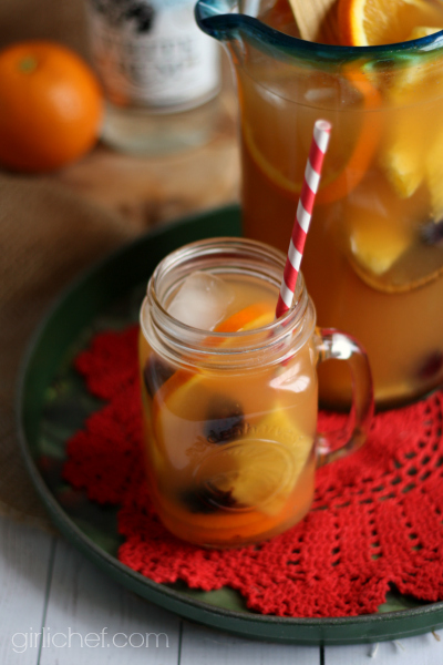 <b>Rum Runner Sangria</b> #CaptainsTable