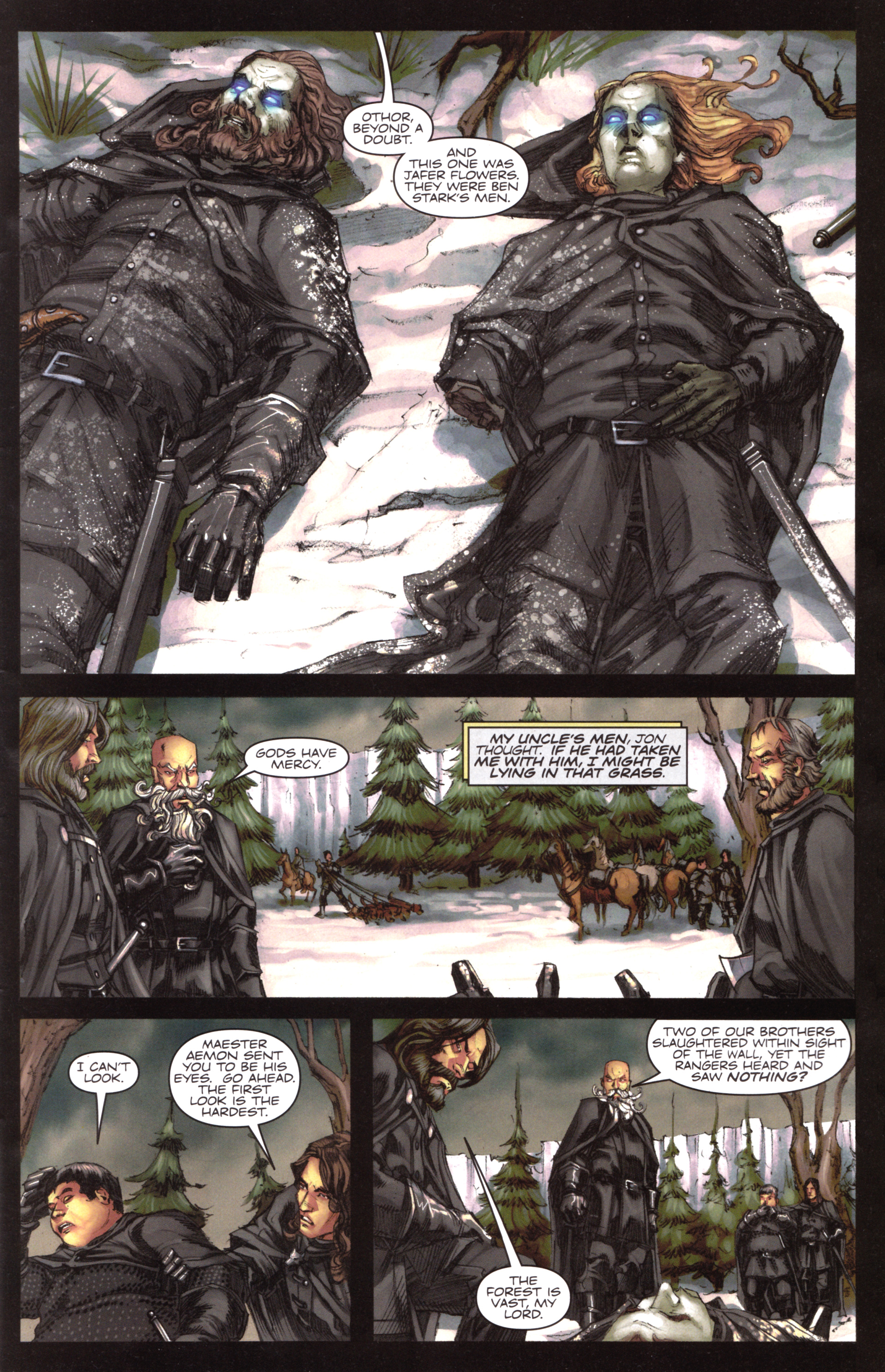 Read online A Game Of Thrones comic -  Issue #17 - 3
