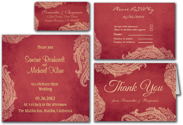 Indian Wedding Invitation Message: Wedding Cards And Gifts: Hindu Wedding Invitation, Indian