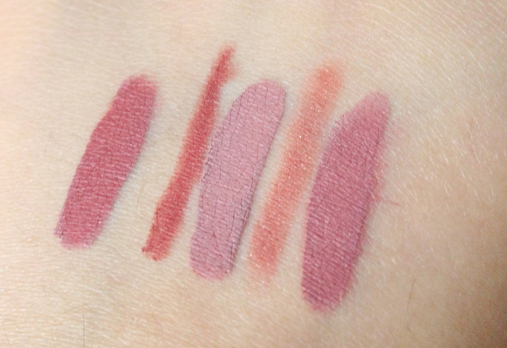 Stila eternal love liquid lipstick set baci review and swatch