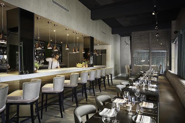 Restaurante do Hotel St Michel em Miami