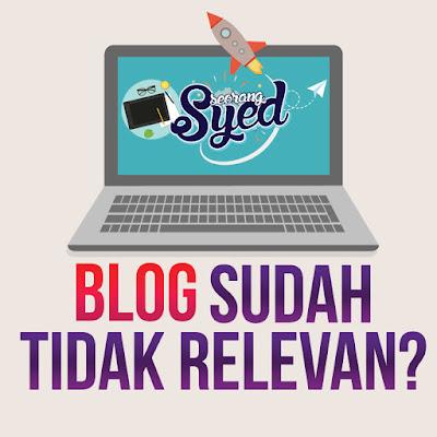 blog sudah tidak diperlukan lagi