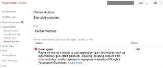 ما هي عقوبة جوجل وما هى انواعها ؟