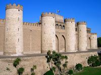 Aljafería; Castillo; Castillo de la Aljafería; Palacio de la Aljafería; Zaragoza; Aragón