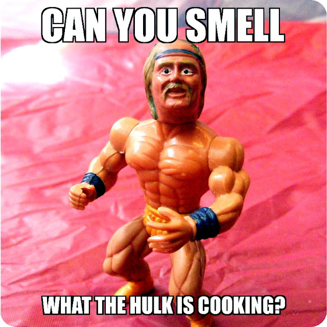 Can you smell what the Hulk is cooking?
