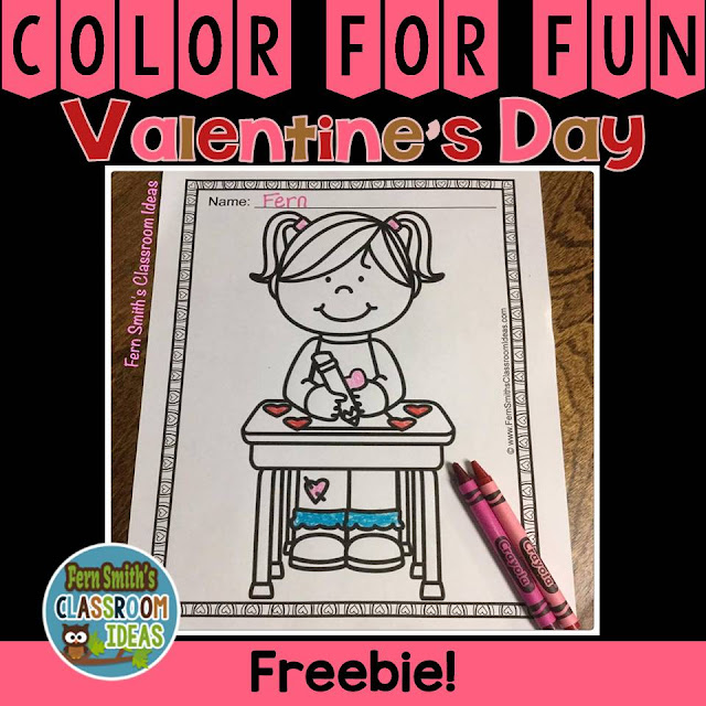 http://www.fernsmithsclassroomideas.com/2017/01/ferns-freebie-friday-color-for-fun-st.html