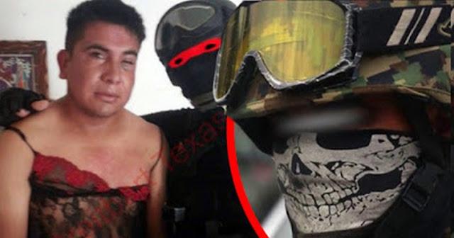 Aparece un nuevo vídeo del Marino Loko, el militar que caza Narcos y los viste de mujer