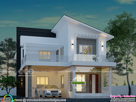 3 BHK, 2389 square feet modern home
