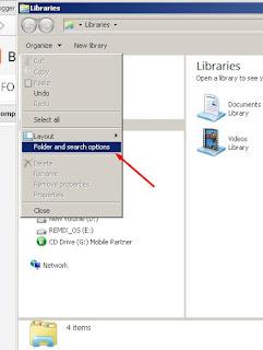 Cara Menampilkan Ceklist File pada  Windows Explorer
