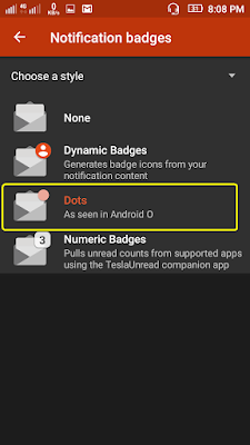 Trick to Enable Notification Dot feature on Android Devic