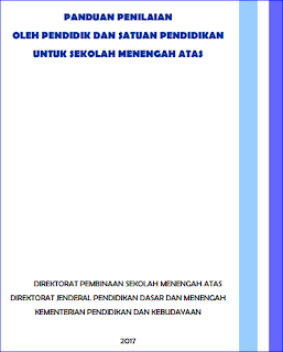 Panduan Penilaian SMA/MA Kurikulum 2013 Revisi 2017