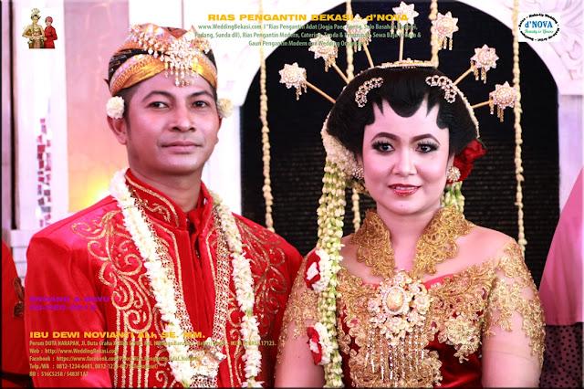 Rias Pengantin SOLO PUTRI - Sanggar Make Up Rias Pengantin Bekasi dNova Bekasi Utara - Endang & Bayu (7)