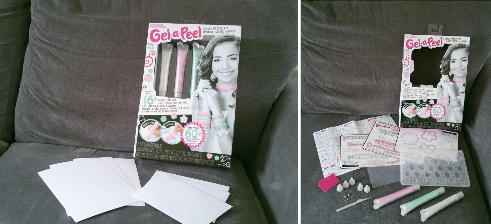 Mothers Day, Gel-a-Peel Pearly Pastel Kit, Mothers Day card crafting