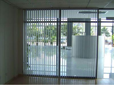 Mua rèm cửa văn phòng: rèm lá dọc, rèm lật, mành sáo
