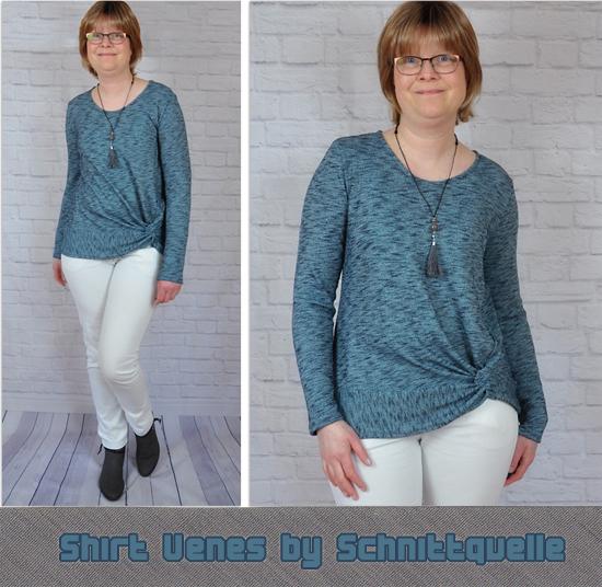 Knotenshirt Venes by Schnittquelle