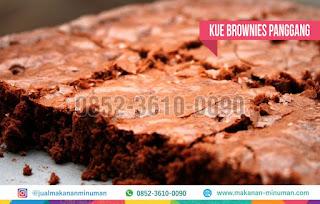 resep kue brownies panggang, makanan-minuman.com, 0852-3610-0090