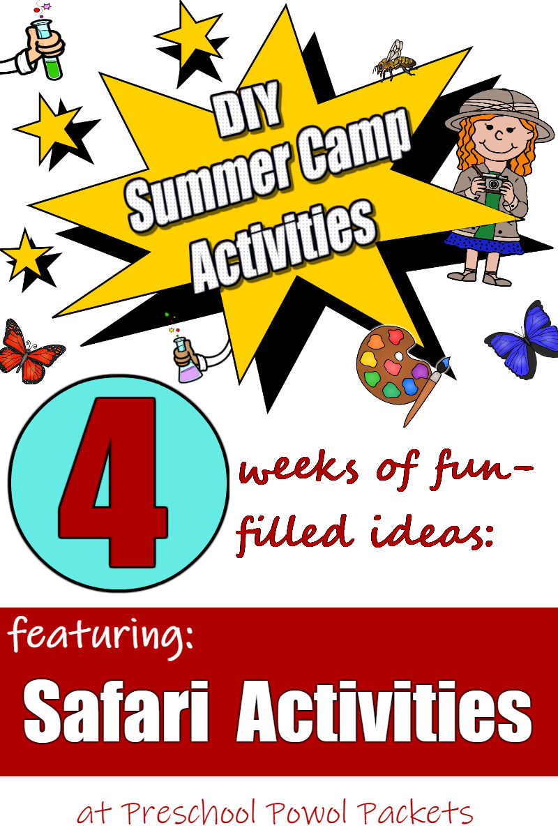 DIY Summer Camp Activities: Safari Activities for