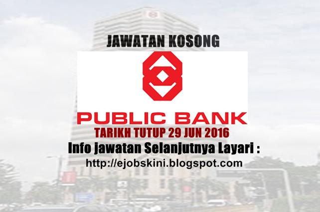Jawatan Kosong Public Bank Berhad