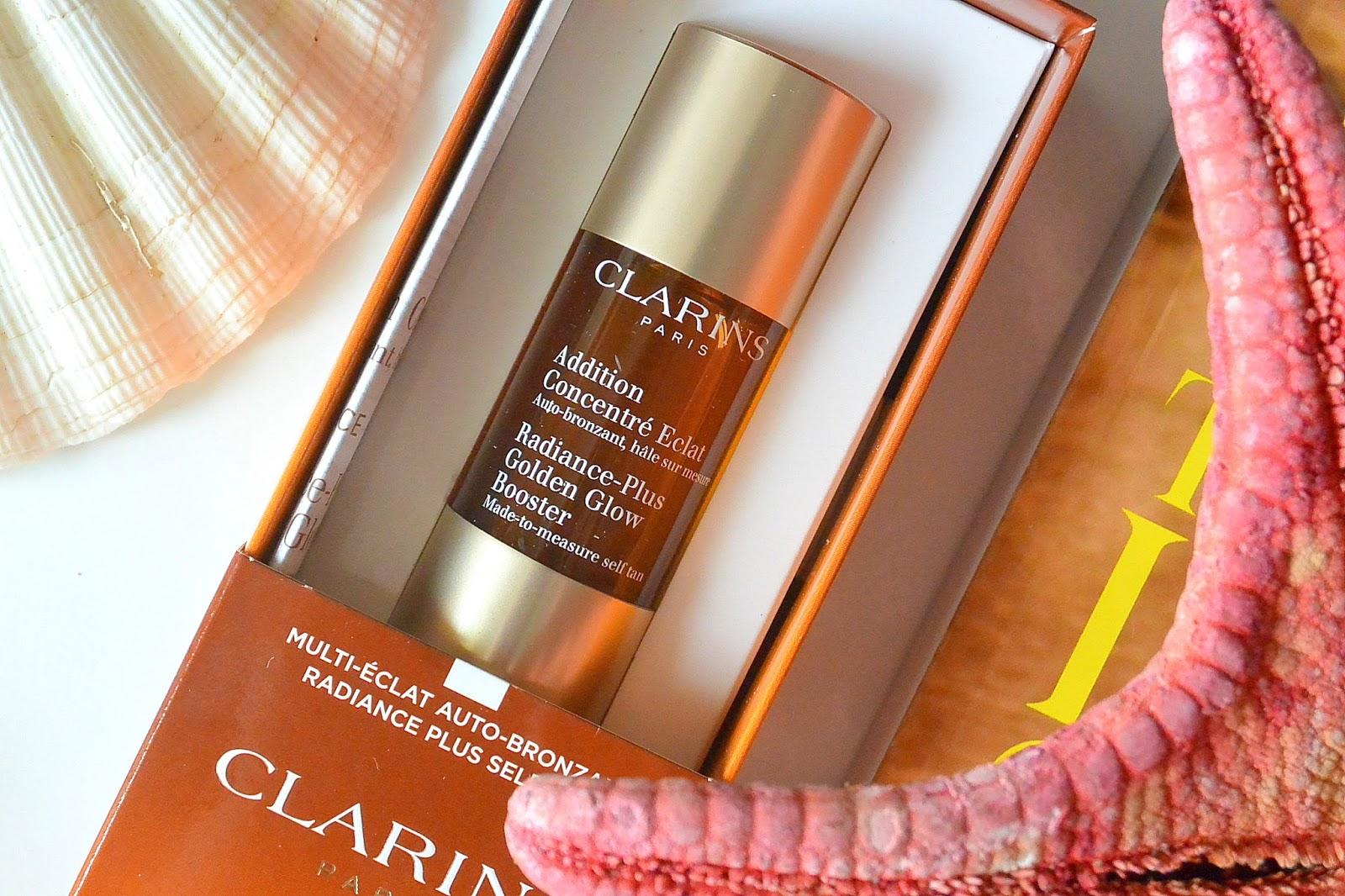 Koncentrat samoopalający w kropelkach do twarzy | Radiance-Plus Golden Glow Booster CLARINS