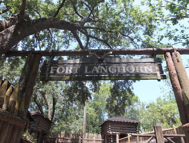 Magic Kingdom Tom Sawyer Island Fort Langhorne