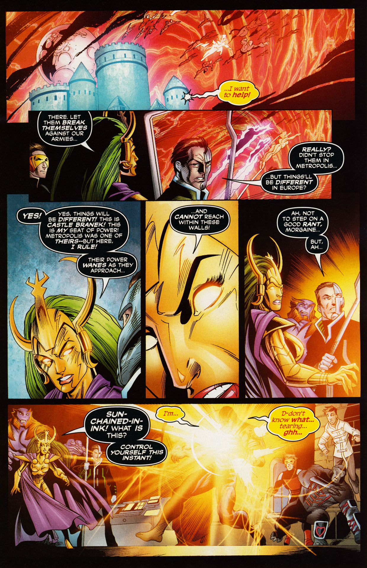 Read online Trinity (2008) comic -  Issue #43 - 13