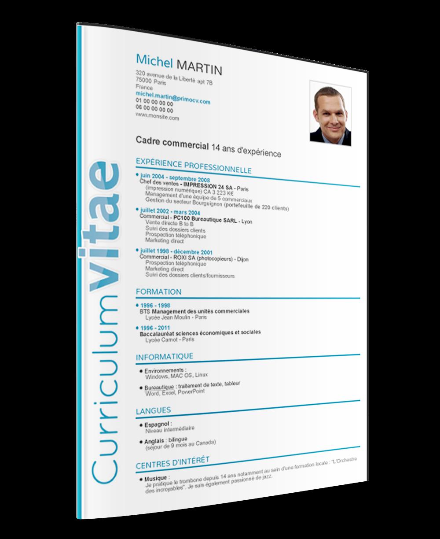 Modelo De Curriculum Vitae 2016 Word – Modelo De Curriculum Vitae