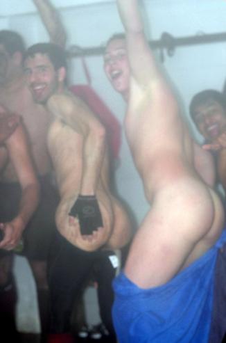 boys mooning
