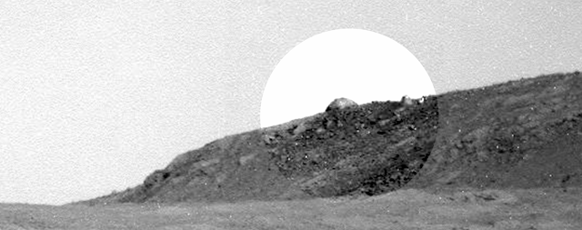 Mars Opportunity Spotted Dome On Mars
