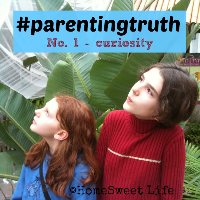 parenting truth, curiosity, exploration, childhood