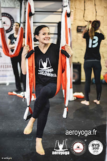FORMATION ENSEIGNANTS AERO YOGA FRANCE, FLY, FLYING, YOGA DANS L'AIR
