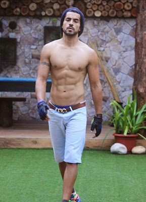 Gautam gulati Shirtless On Bigg Boss 8 Hot pics