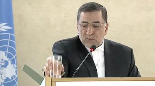 Iran's Justice Minister Alireza Avaei,