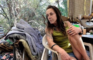 California's homelessness crisis moves to the country