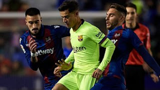 Levante vs Barcelona 2-1 Highlights