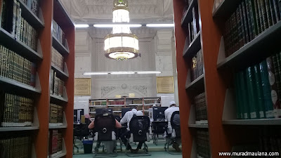 Tempat Membaca Perpustakaan Masjidil Haram