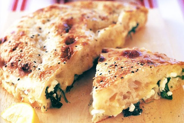 Turkish Pizza (Vegetarian) Recipe