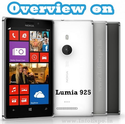Overview on Nokia Lumia 925 - the most innovative phone from Nokia