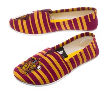 Top 20 Harry Potter Wishlist Items that I need in my life Gryffindor slip on shoes