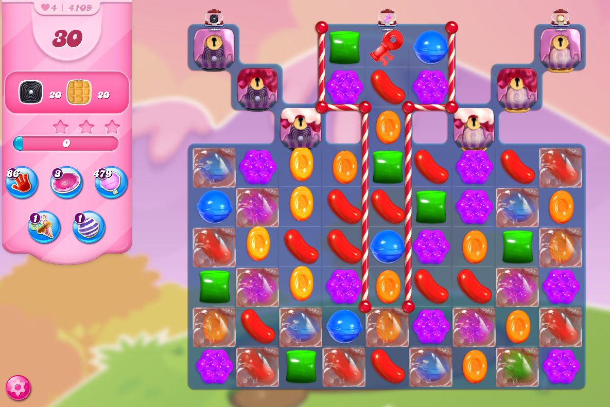 Candy Crush Saga level 4109